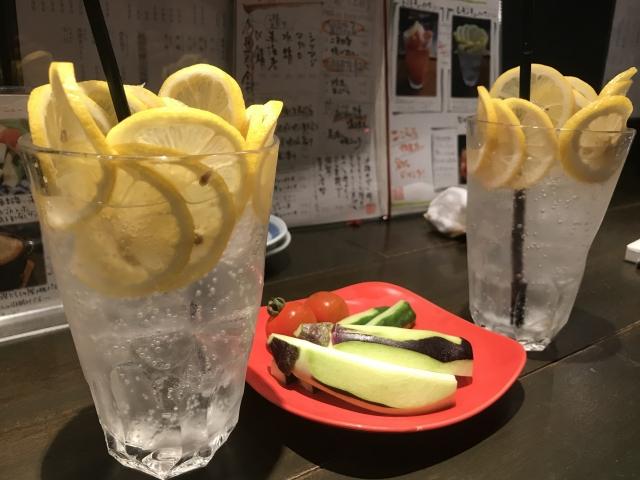 レモンサワー画像