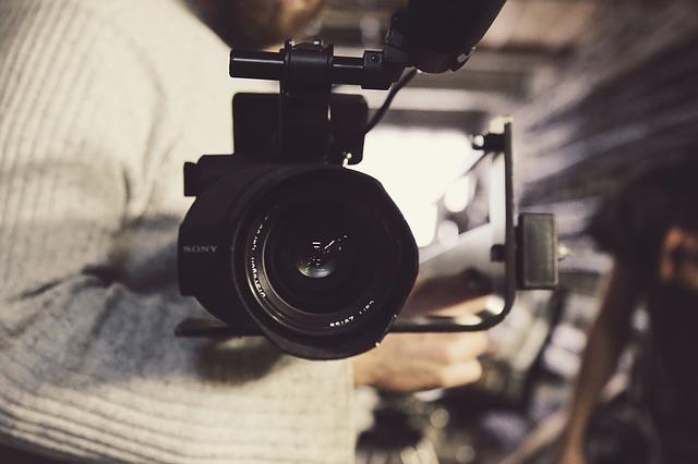 映画カメラ画像