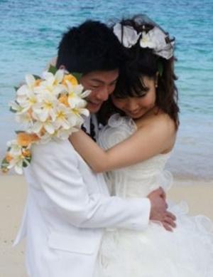 大森寛子 旦那 結婚 画像