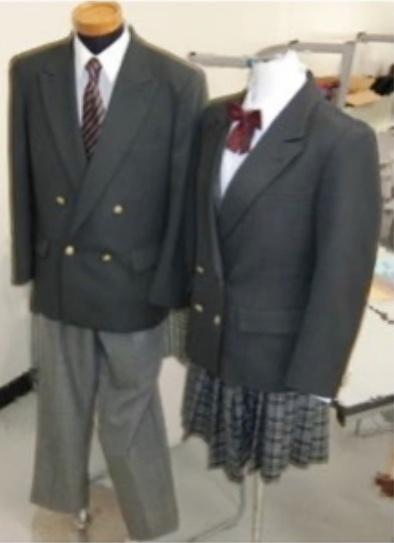 田奈校の制服画像