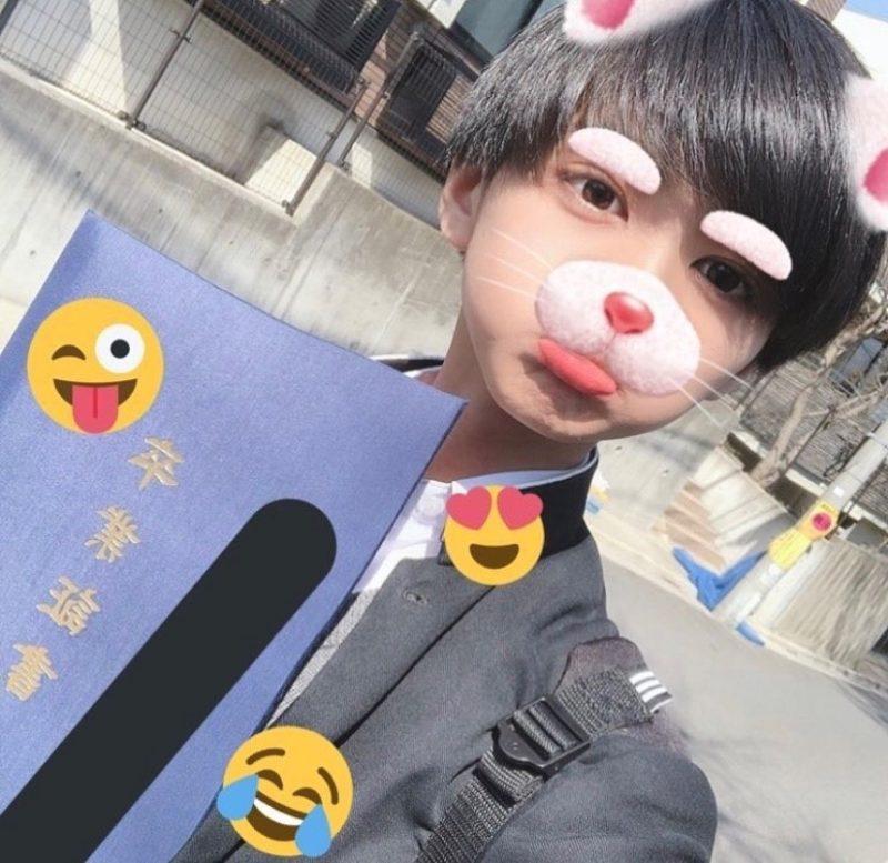 ふうた(酒寄楓太)の学歴、中学、高校の画像