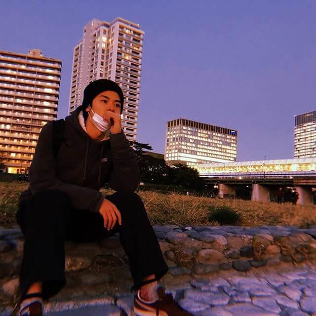 北條慶(けい)のカッコいいインスタ画像3