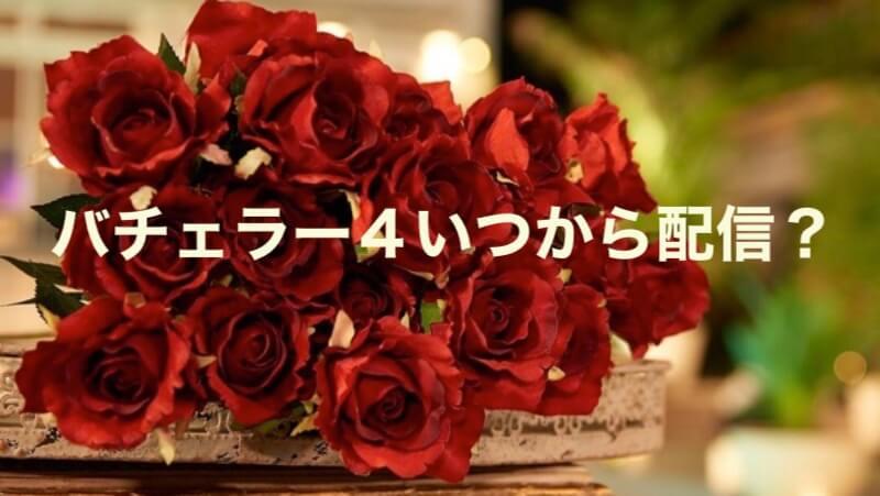 バチェラー4配信日記事画像