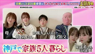 川口葵の家族画像