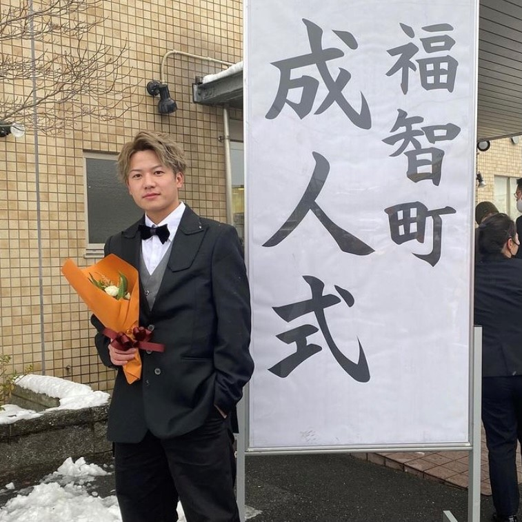 たかひろ(吉田顕栄郎)くんの成人式