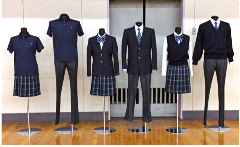 神奈川県立寒川高校の制服