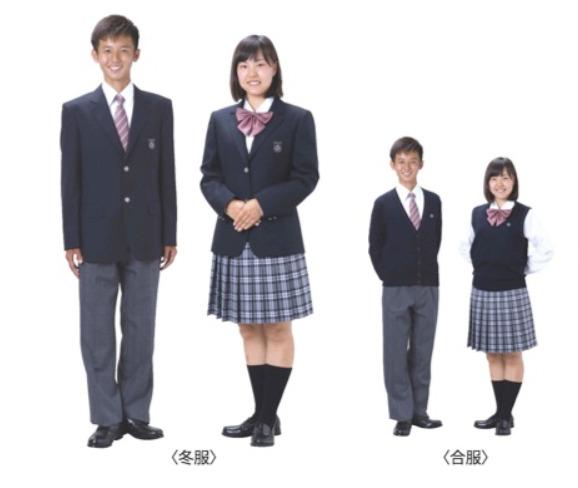 「同朋高校」の制服