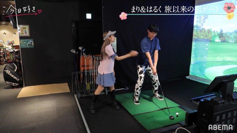まりはるくデートゴルフ場2