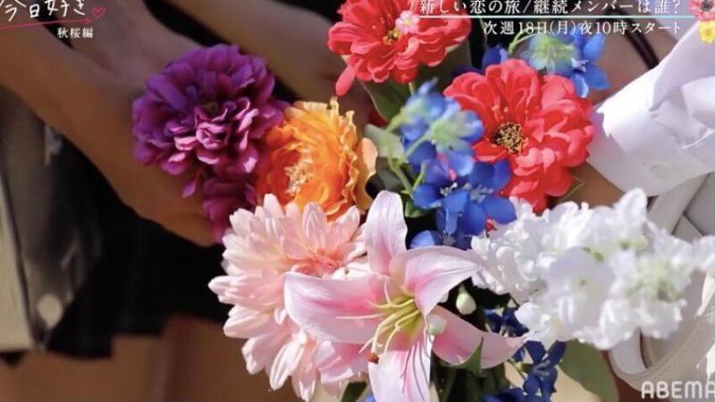 今日好き秋桜編結果ネタバレ!最終回までのカップル成立予想と感想と考察!